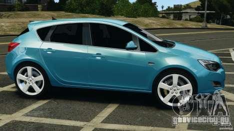 Opel Astra 2010 v2.0 для GTA 4 вид слева