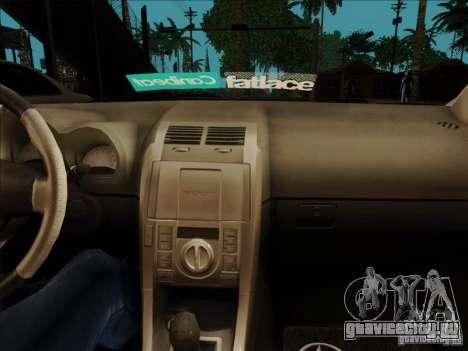 Scion tC 2012 для GTA San Andreas вид сзади