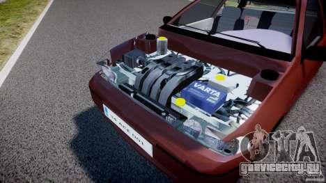 Fiat Palio 1.6 для GTA 4 вид сзади