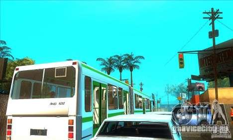 Прицеп для ЛиАЗ 6212 для GTA San Andreas вид слева