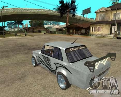 ВАЗ 2101 Тюнинг для GTA San Andreas вид слева