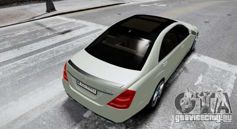 Mercedes-Benz S65 AMG LONG 2010 для GTA 4