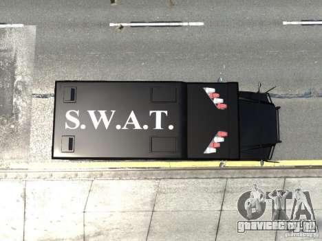 SWAT - NYPD Enforcer V1.1 для GTA 4 вид сзади