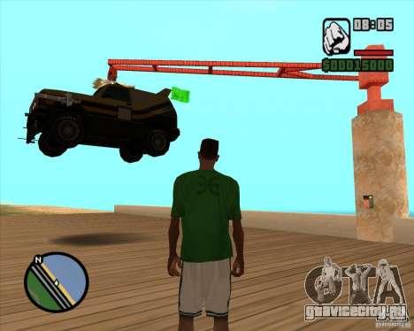 Death Car - машина смерти для GTA San Andreas второй скриншот