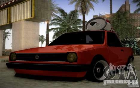 Volkswagen Polo Pickup для GTA San Andreas