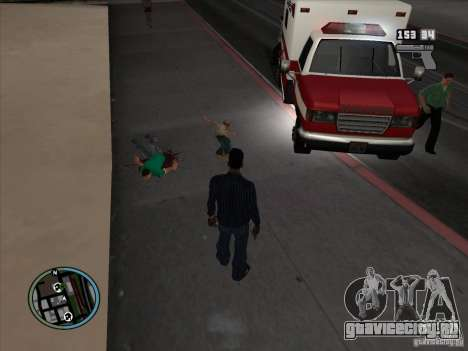 GTA IV LIGHTS для GTA San Andreas пятый скриншот