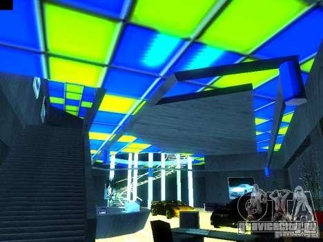 Новый автосалон в San Fiero для GTA San Andreas третий скриншот