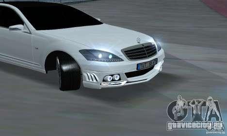 Mercedes-Benz S65 AMG Edition для GTA San Andreas вид справа