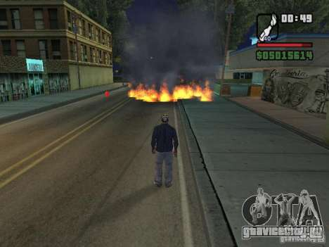 New Realistic Effects для GTA San Andreas пятый скриншот