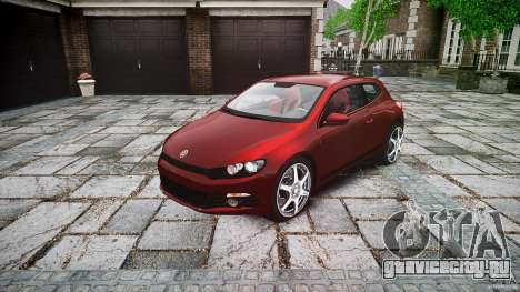 Volkswagen Scirocco 2.0 TSI для GTA 4