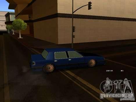 Willard Drift Style для GTA San Andreas вид справа