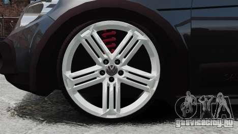 Volkswagen Saveiro Cross Edit для GTA 4 вид сзади