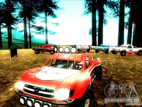 Toyota Tundra Rally для GTA San Andreas вид слева