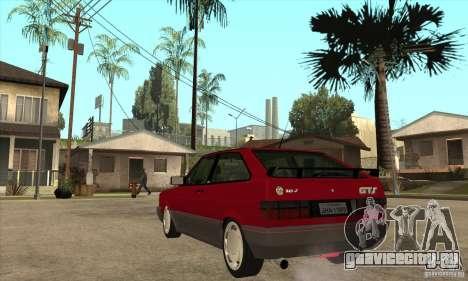 Volkswagen Gol GTS 1994 для GTA San Andreas вид сзади слева