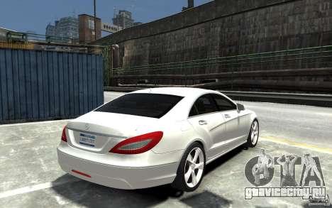 Mercedes-Benz CLS 350 для GTA 4 вид справа