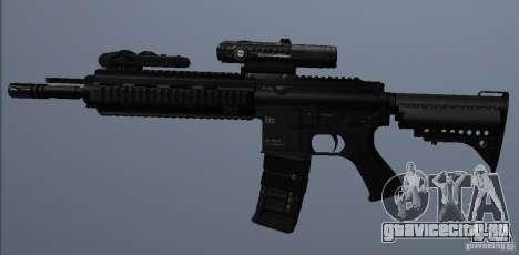 Автоматическая винтовка HK416 для GTA San Andreas четвёртый скриншот