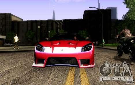 Honda NSX VielSide Cincity Edition для GTA San Andreas колёса