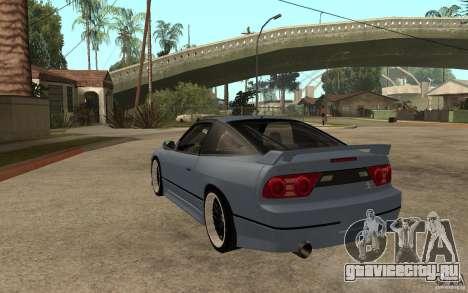 Nissan Silvia80 - EMzone Edition для GTA San Andreas