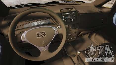 Suzuki Liana GLX 2002 для GTA 4 вид сзади