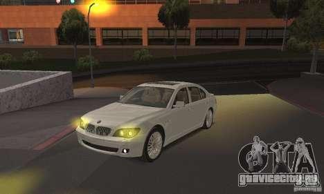 Жёлтый цвет фар для GTA San Andreas второй скриншот
