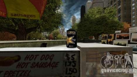 Энергетический напиток «Rockstar» для GTA 4 пятый скриншот