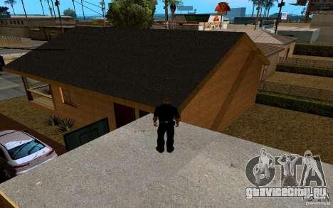 Новый дом Биг Смоука для GTA San Andreas девятый скриншот