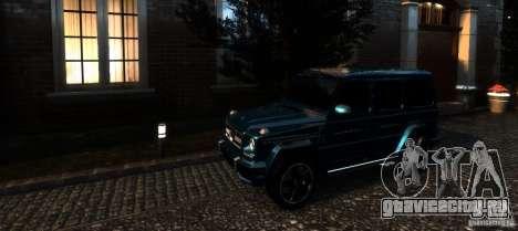 Mercedes-Benz G65 AMG [W463] 2012 для GTA 4 салон