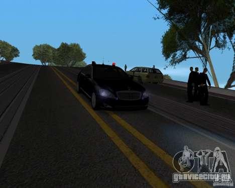 Mercedes Benz S500 w221 SE для GTA San Andreas