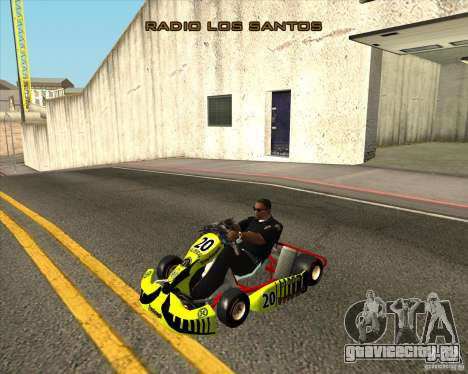 Shifter kart Honda CR 125 для GTA San Andreas