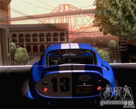 Shelby Cobra Daytona Coupe 1965 для GTA San Andreas вид слева
