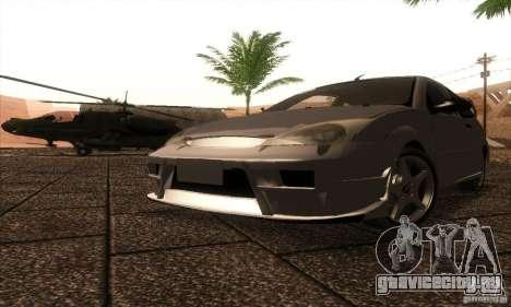 Ford Focus SVT TUNEABLE для GTA San Andreas вид слева