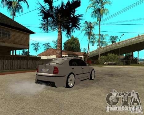 Skoda Superb Light Tuning для GTA San Andreas вид справа