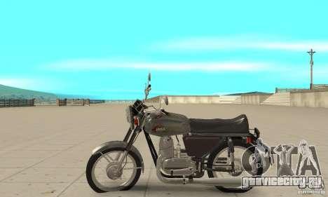 Ява 350 модернизация 634V5 для GTA San Andreas