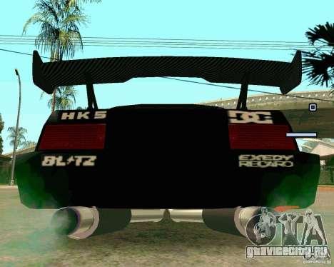 Hotring Racer Tuned для GTA San Andreas вид сзади