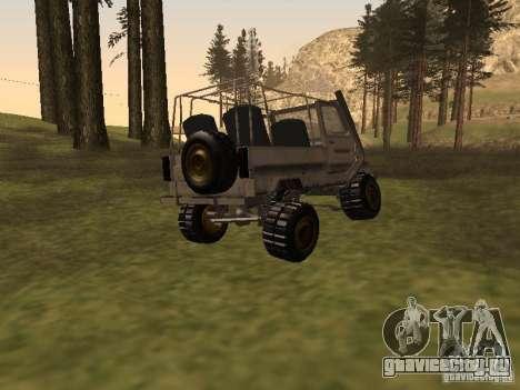 Луаз 969 Offroad для GTA San Andreas вид сзади слева