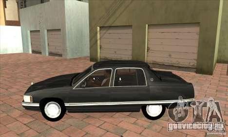 Cadillac Deville v2.0 1994 для GTA San Andreas вид слева