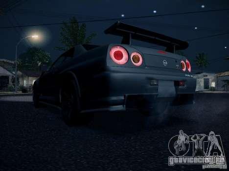 Nissan Skyline Z-Tune для GTA San Andreas вид справа