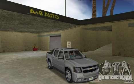 Chevrolet Avalanche 2007 для GTA Vice City
