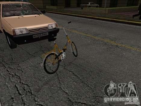 Romet Wigry 3 для GTA San Andreas вид сзади