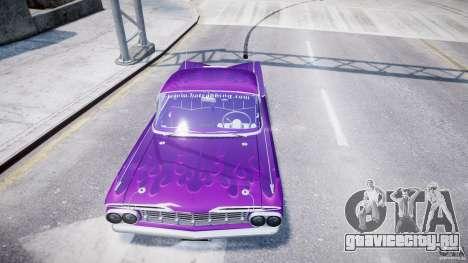 Chevrolet Impala 1959 для GTA 4 колёса