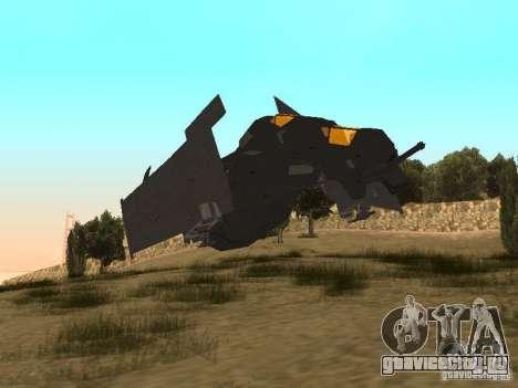 Vtol Crysis для GTA San Andreas вид слева