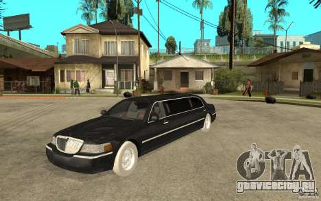 Lincoln Towncar limo 2003 для GTA San Andreas