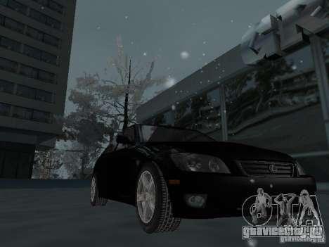 Lexus IS300 для GTA San Andreas вид сверху