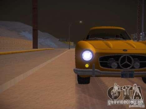 Mercedes-Benz 300SL для GTA San Andreas вид сверху