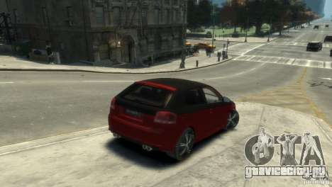 Audi BS3 O.CT Tuning для GTA 4 вид сзади слева