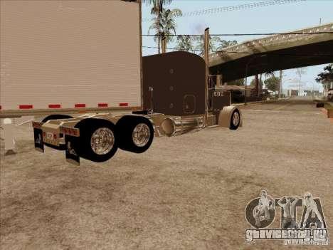 Peterbilt 379 Custom для GTA San Andreas вид сзади слева