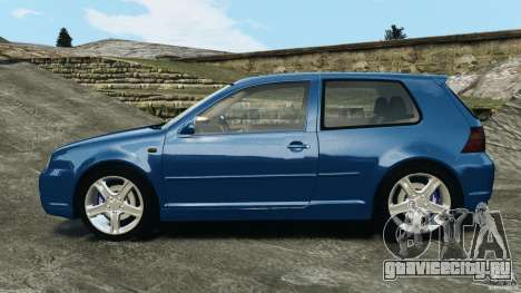 Volkswagen Golf 4 R32 2001 v1.0 для GTA 4 вид слева
