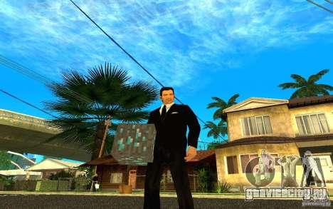 Алмазная руда из игры Minecraft для GTA San Andreas пятый скриншот