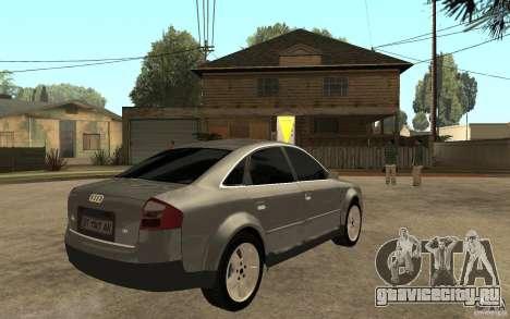 Audi A6 3.0i 1999 для GTA San Andreas
