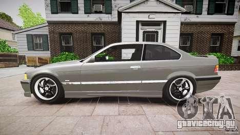 BMW E36 328i v2.0 для GTA 4 вид слева